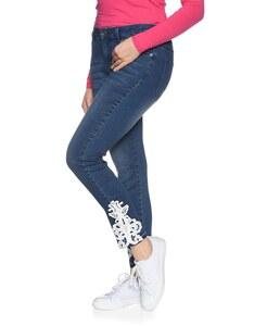 My Own - Jeans mit Spitzenbesatz