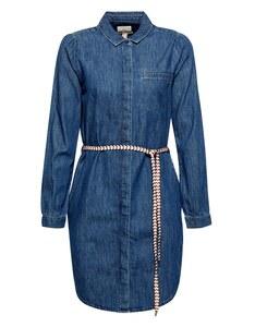Esprit - Blusenkleid aus Denim