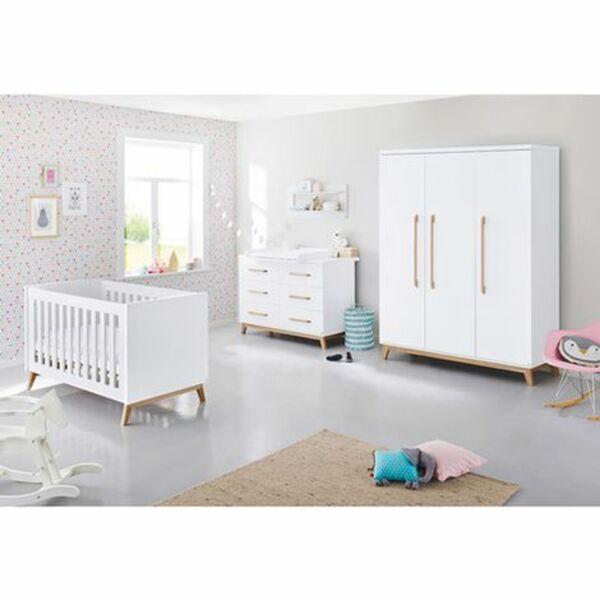 Pinolino   3-tlg. Babyzimmer Riva extrabreit groß