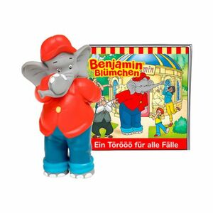 tonies   Tonie Hörfigur Benjamin Blümchen - Ein Törööö für alle Fälle