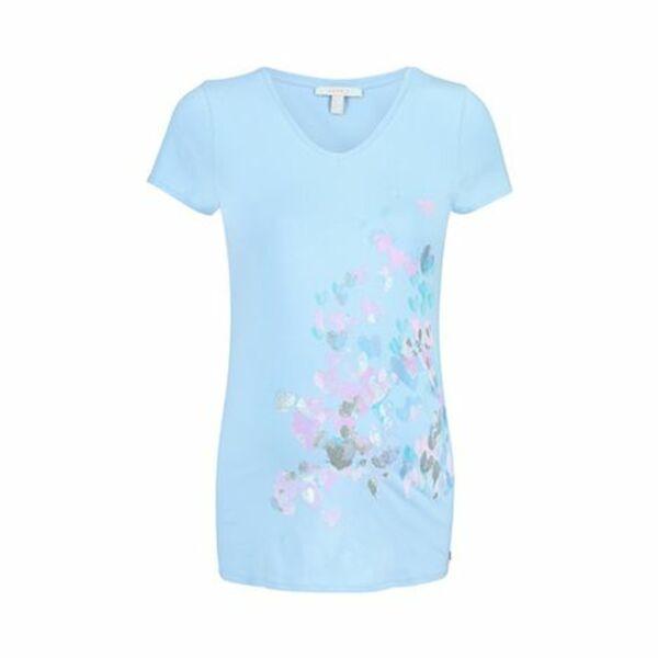 ESPRIT   Umstands-T-Shirt hellblau