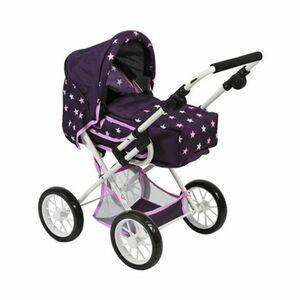Bayer Chic   Kombi-Puppenwagen Leni Stars lila