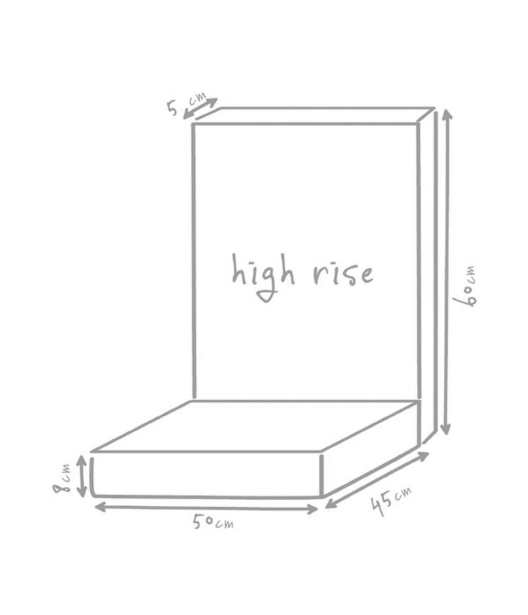 Bild 4 von Outbag Hochlehnerpolster High Rise Plus, 105x50x8 cm