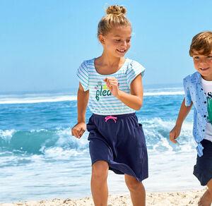 Kids Mädchen-Kleid mit Glitzer