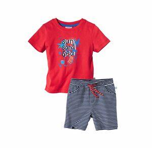 Liegelind Baby-Jungen-T-Shirt und Shorts, 2-teilig