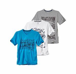 Reward classic Herren-T-Shirt mit V-Ausschnitt