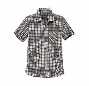 Reward classic Herren-Hemd mit Seersucker-Gewebe