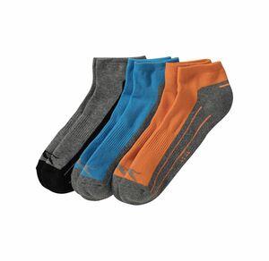 Slazenger Herren-Sneaker-Socken mit Logo, 3er Pack