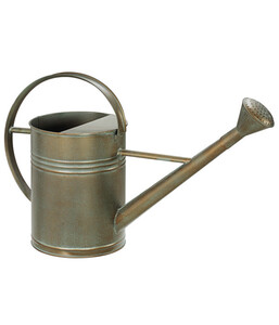 Dehner Metall-Gießkanne, 9 l, bronze