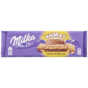 Milka Mmmax Schokolade Choco & Biscuit