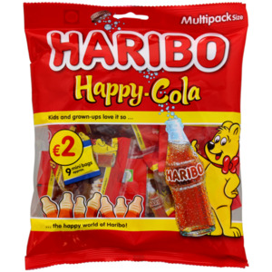Haribo Happy Colaflaschen Minibeutel
