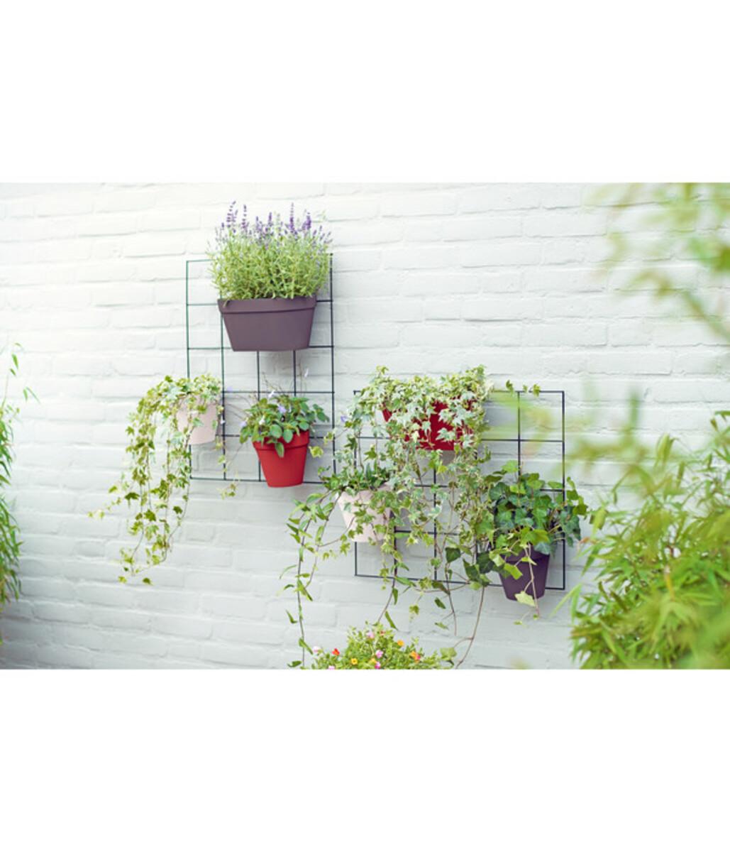 Bild 2 von elho Kunststoff-Wandhängetopf Loft Urban Green Wall Duo, ca. B28/H13,6/T15,1 cm