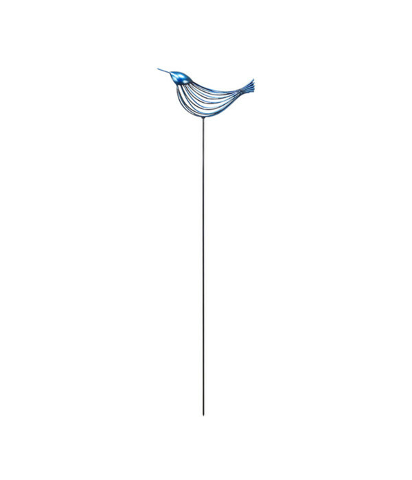 Dehner Metall-Dekostab Vogel Picco gerade schauend, 130 cm