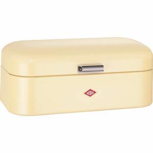 Wesco Brotbox Grandy mit Brotmesser, vanille
