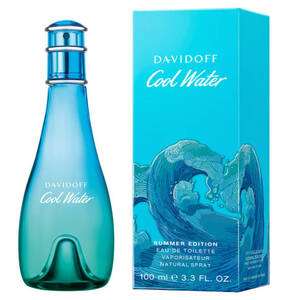 Davidoff                Cool Water Woman                 Summer Edition Eau de Toilette 100 ml
