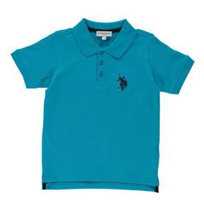 US POLO             Poloshirt, Baumwoll-Mix, Logo-Stickerei, für Jungen