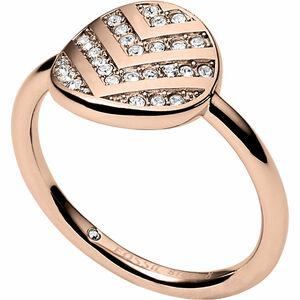 """Fossil Damen Ring Vintage Glitz """"JF02749791"""", Edelstahl"""