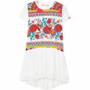 Desigual Mädchen Vokuhila-Kleid