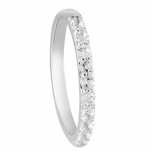 Glory Damen Ring mit Topase, 375er Weißgold