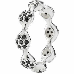 "Pandora Damen Ring 8-Elemente Pavé ""190889NCK"", 925er Silber"