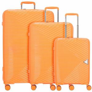 March15 Trading Gotthard 4-Rollen Kofferset 3tlg., orange