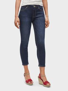 Tom Tailor Naomi Campbell: Kate Skinny Ankle Jeans, dark blue denim