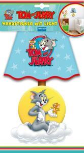 Wandsticker mit Licht Tom und Jerry