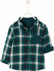 Baby Karo-Langarmhemd Gr. 74 Jungen Baby