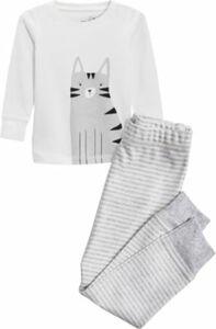 Schlafanzug , Katze Gr. 74/80 Mädchen Baby