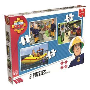 Puzzle Feuerwehrmann Sam