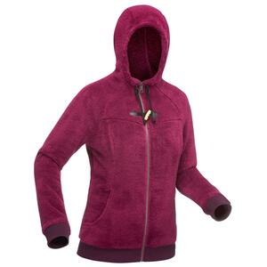 Fleecejacke Winterwandern SH100 Ultra-Warm Damen violett