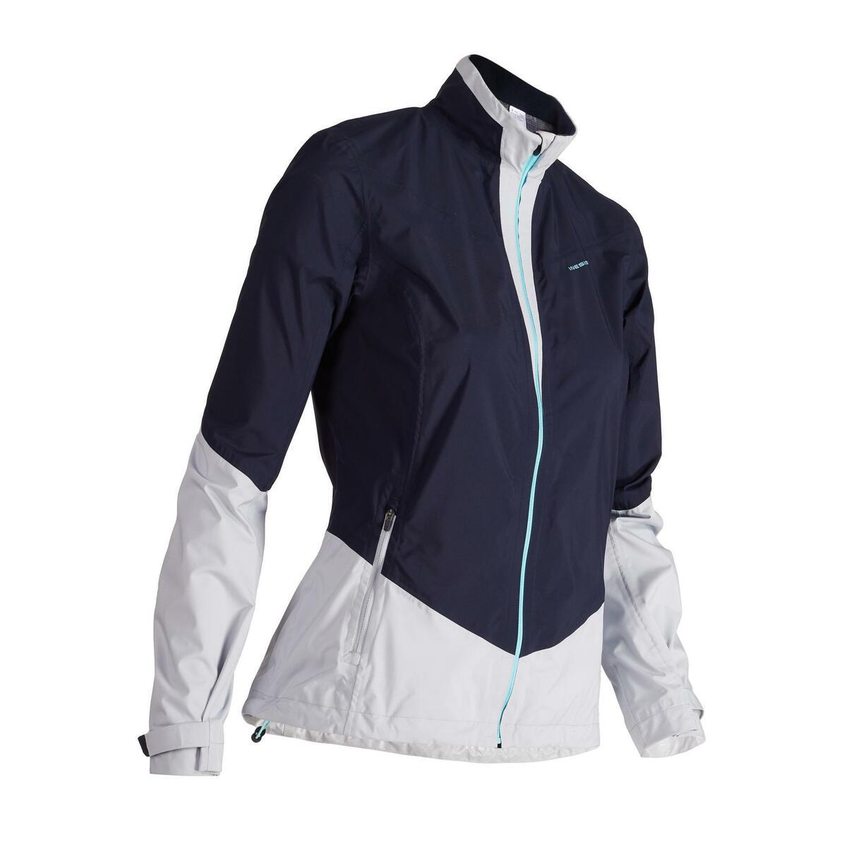 Bild 1 von Golf Regenjacke 900 Damen marineblau/grau wasserdicht