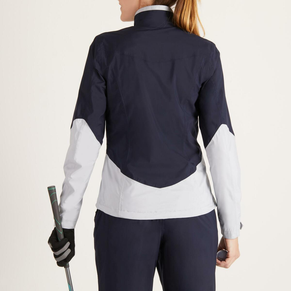 Bild 4 von Golf Regenjacke 900 Damen marineblau/grau wasserdicht