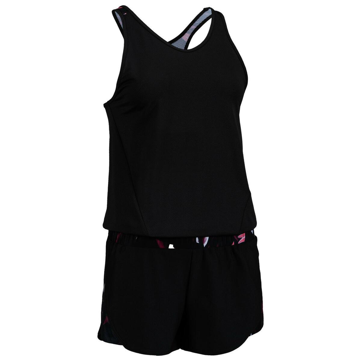 Bild 1 von Jumpsuit FJS 500 Cardio Fitness Damen schwarz