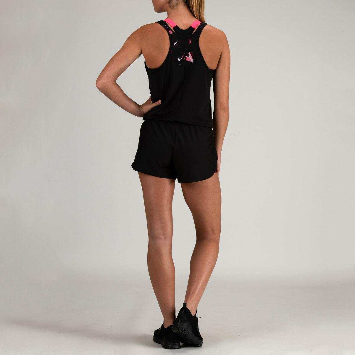 Bild 4 von Jumpsuit FJS 500 Cardio Fitness Damen schwarz