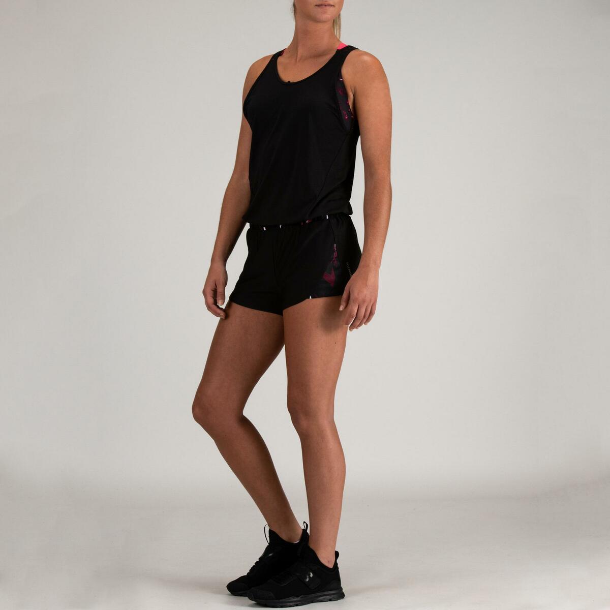 Bild 5 von Jumpsuit FJS 500 Cardio Fitness Damen schwarz