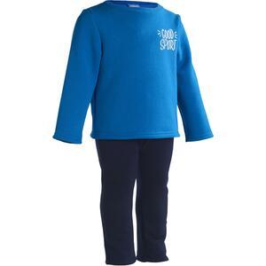 Jogginganzug 100 Warm´y Gym Baby blau bedruckt