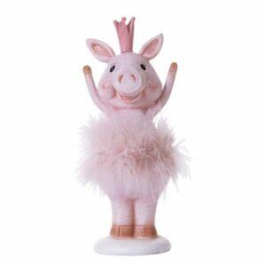 Deko-Figur Schweinchen Princess