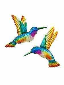 """""""Wanddeko """"Kolibri"""""""", 2er-Set"""