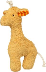 ALANA Baby-Kuscheltier Giraffe, in Bio-Baumwolle und Schurwolle, gelb, für Mädchen und Jungen