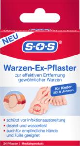 SOS Warzen-Ex-Pflaster