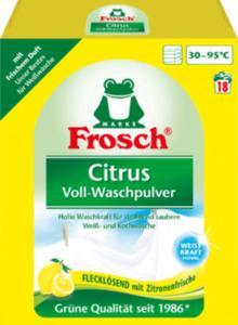 Frosch Vollwaschmittel Pulver Citrus