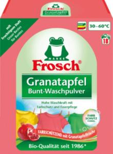 Frosch Colorwaschmittel Pulver Granatapfel