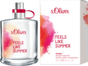 s.Oliver Eau de Toilette Feels like Summer