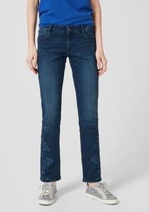 Shape Slim: Jeans mit Blüten-Deko