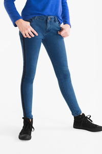 Here and There         THE SUPER SKINNY JEANS - Glanz Effekt