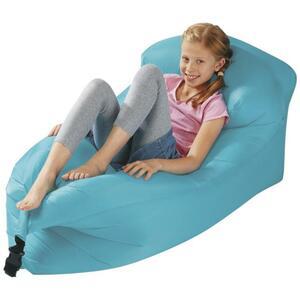 IDEENWELT Air-Lounge für Kinder blau