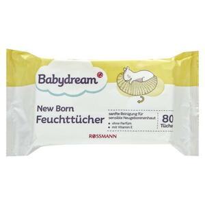 Babydream New Born Feuchttücher
