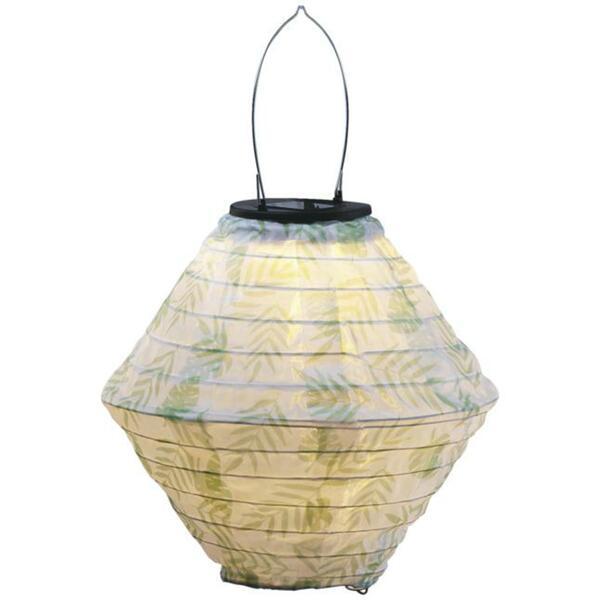 IDEENWELT Solar-Lampion, Design: Blätter