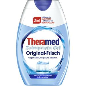 Theramed 2in1 Original-Frisch Zahnpasta Gel 1.99 EUR/100 ml